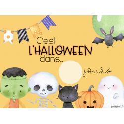 Décompte Halloween