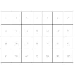 jeu en anglais sur les nombres