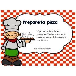 Prépare ta pizza