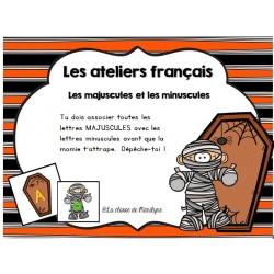 activité français majuscule/minuscule momie