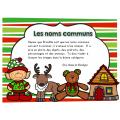 Atelier de Noël: les noms communs