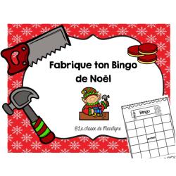 Fabrique ton Bingo de Noël