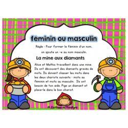 Atelier français: Le féminin / masculin