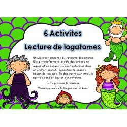 6 activités: lecture de logatomes