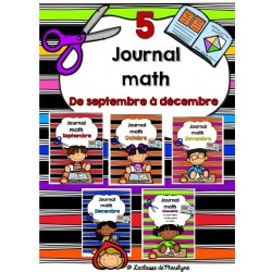 Journal math combinaison septembre à décembre