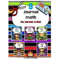 Journal math combinaison de janvier à mai
