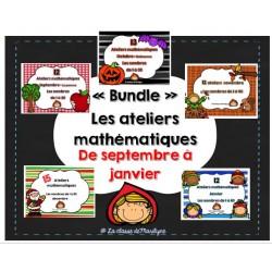 Les ateliers mathématiques de Septembre à Janvier