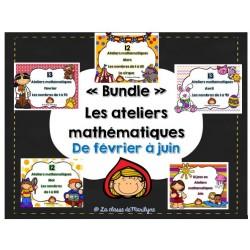 Les ateliers mathématiques de février à juin