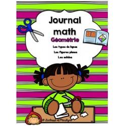 Le journal math Géométrie