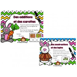 2 Ateliers math: additions / soustractions