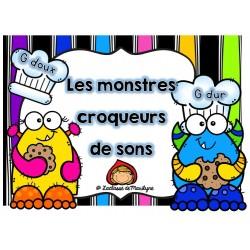 Les monstres croqueurs de sons (G dur et doux)
