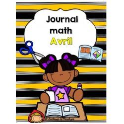 Journal math avril