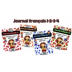 Journal français 1-2-3-4