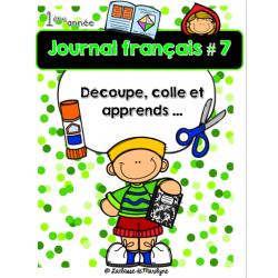 Journal français 7