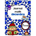 Journal math décembre 2e année