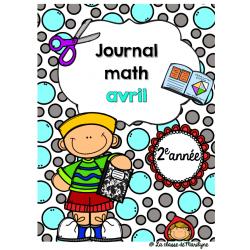 Journal math 2e année avril