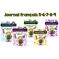 Journal français 5-6-7-8-9