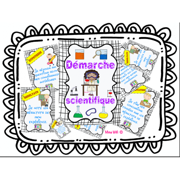 La démarche scientifique / les élèves du primaire