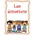 Les émotions - affiches