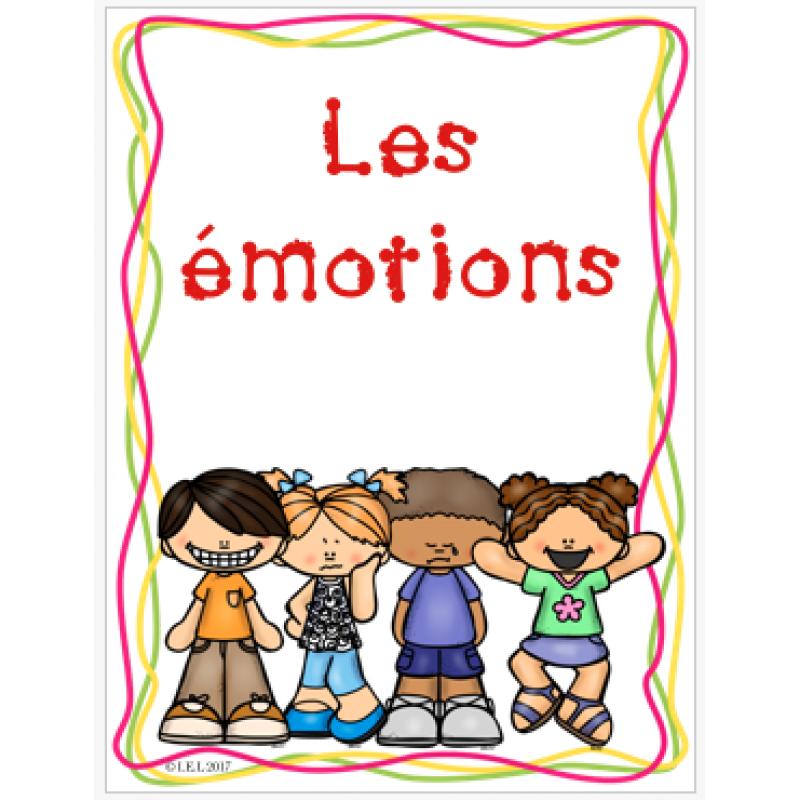 Les émotions Affiches