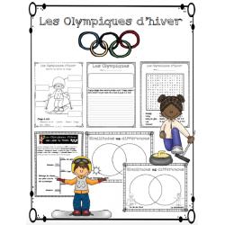 Les Olympiques d'hiver - activités variées