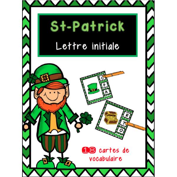 St-Patrick LETTRE INITIALE