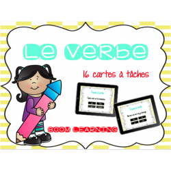 BOOM LEARNING - trouve le VERBE