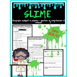SLIME - expérience sur les polymères!