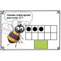 Abeilles - atelier maths nombres jusqu'à 10