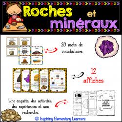 Les roches et les minéraux