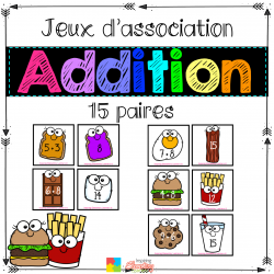 Jeu d'association - ADDITION