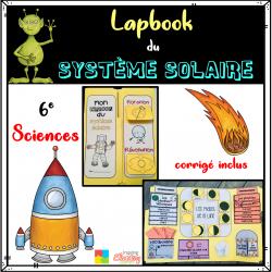 Le système solaire - cahier interactif