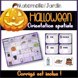 Orientation spatiale - Halloween