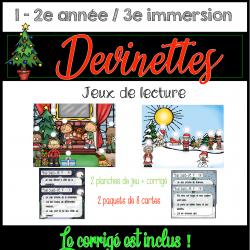 Atelier de lecture - Noël