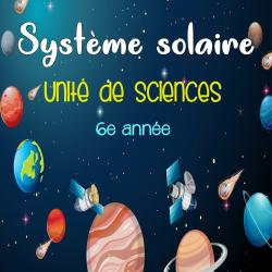 Système solaire - sciences +70 pages