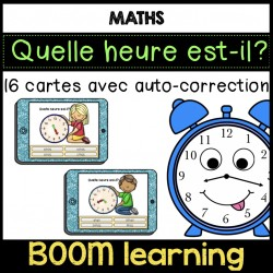 BOOM LEARNING quelle heure est-il?+ version impri