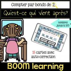 BOOM LEARNING - compter par bonds de 2
