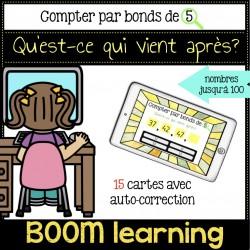 BOOM LEARNING - compter par bonds de 5