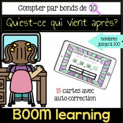 BOOM LEARNING - compter par bonds de 10
