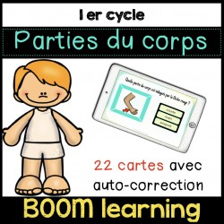 BOOM LEARNING - parties du corps