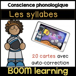 BOOM LEARNING - les syllabes de l'astronaute