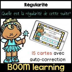 BOOM LEARNING - la régularité