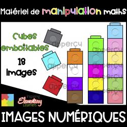 Cubes emboîtables ❤️Images numériques / Clip Art❤️