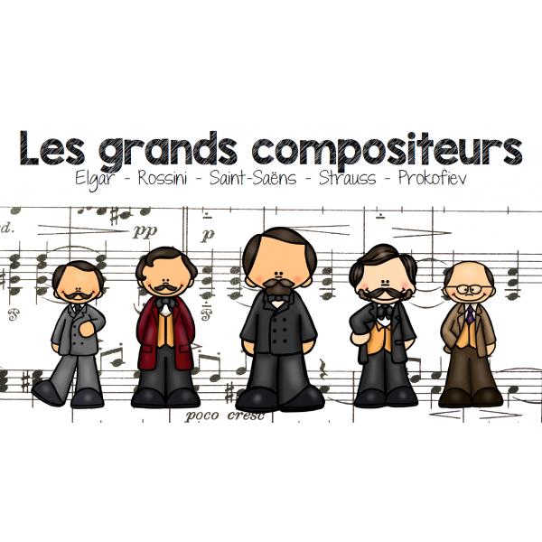 Les grands compositeurs 1
