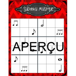 Sudoku 4x4 et 6x6 - Musique primaire