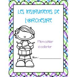 Cahiers à colorier - Musique