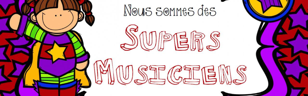 La classe de Musique de Marie-Soleil