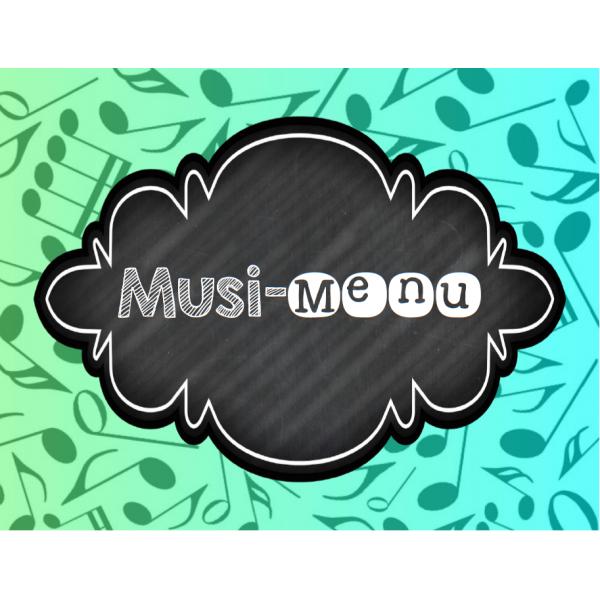 Musi-Menu - Menu du cours