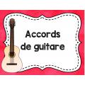 Accords de guitare