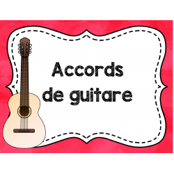 Accords de guitare